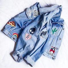 Imagen de fashion, jacket, and alien