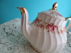 Shabby Chic Vintage #Tea Pot by Sadler by JoliDelices on Etsy, $24.50