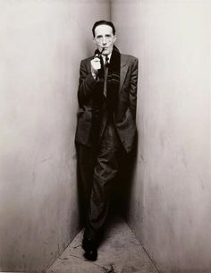 Irving Penn's Corner Portraits (1948) Marcel Duchamp