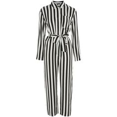 47a135fbd887 TopShop Humbug Striped Boiler Suit Romper ( 100) ❤ liked on Polyvore  featuring jumpsuits