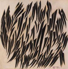 Untitled | Mixed media on wood, 119.5 x 119.5 cm, 1970 | Medium: Mixed Media | Omar El Nagdi, Origin: Egypt, Born in: Egypt | Barjeel Art Foundation