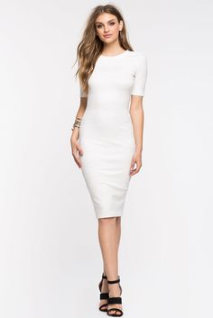 Remi Ribbed Sheath DressRemi Ribbed Sheath Dress