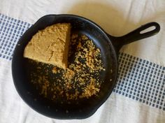 Hello, comfort food weather! We'd like to introduce you to our new best friend: whole grain skillet corn bread. Recipe from the November 2011 issue of Whole Living Magazine.
