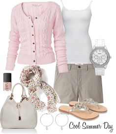 """""""Cool Summer Day"""" by funnygr on Polyvore"""