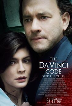 The Da Vinci Code (2006) with Tom Hanks and Audrey Tautou