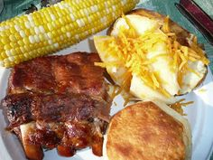 Everyday Dutch Oven: Mom's Baby Back Ribs