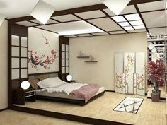 Relaxing master bedroom ideas Tags: master bedroom ideas rustic small master bedroom ideas master bedroom ideas romantic master bedroom ideas for couples Japanese Inspired Bedroom, Japanese Style Bedroom, Japanese Interior Design, Home Interior Design, Japanese Home Decor, Asian Style Bedrooms, Japanese Lamps, Japanese Design, Japanese Decoration