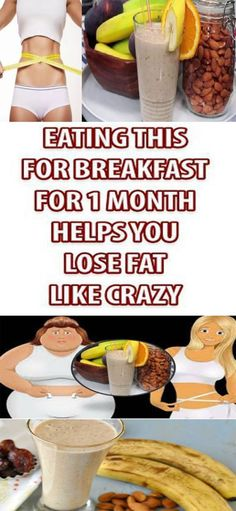 Lose Fat Like Crazy by Eating This Breakfast For One Month!