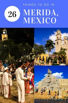 There are many things to do in Merida Mexico but this beautiful Spanish Colonial capital city also makes a perfect base for exploring the Yucatan Mexico Vacation, Mexico Travel, Cozumel, South America Travel, North America, Latin America, Central America, Tulum, Puerto Vallarta