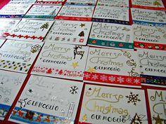 Elisa&Zucchina, cose da mici: Tags e cards natalizie