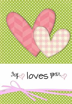 VD My Heart Loves Your:   Made Personal With Pixingo,  Design your own personal card on line using your photos or use a pre-made template! It will be printed, stamped and mailed for you! Easy as 1,2,3! Retail or Wholesale www.PixByMarlys.com