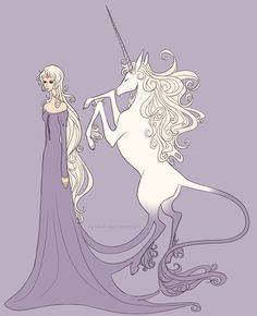 The Last Unicorn @jennlyeth13