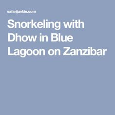 Snorkelling in the South East Coast of Zanzibar will save you money and is as good as expensive Mnemba and Chumbe Island tours. Island Tour, Snorkelling, Blue Lagoon, Safari