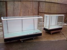 4ft and 6ft full view showcases, $450