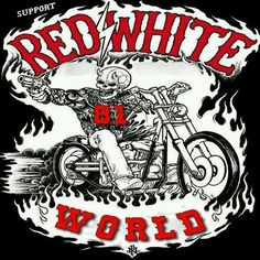 Nomads Support 81 Photo by DutchBaldy Biker Clubs, Motorcycle Clubs, Red And White Wallpaper, I Miss You Dad, Angels Logo, Biker Quotes, Hells Angels, Bike Life, Funny Pictures