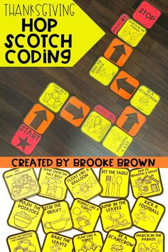 Interactive, unplugged coding with a Thanksgiving twist! Perfect for Kindergarten, First Grade, Second Grade, and Third Grade