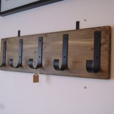 DECORATIVE WALL HOOKS THAT YOU CAN MAKE YOURSELF #wallcoathookideas