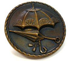 vintage umbrella button