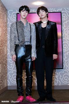 Bts Jin and Taehyung
