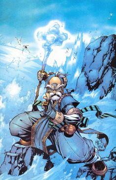 Battle Chasers by Joe Madureira Joe Madureira, Comic Book Covers, Comic Books Art, Book Art, Battle Chasers, 2d Game Art, Fantasy Comics, Image Comics, Dc Comics
