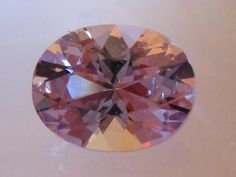 2 Carat Precision Cut Light Pink Spinel: Nice Alternative to Morganite Engagement Ring, by JuliaBJewelry