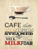 Cafe Latte Lámina por Marco Fabiano