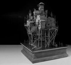 Hans Op de Beeck 'Settlement', sculpture, mixed media, © Hans Op de Beeck 2013