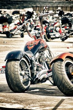 Badass Choppers, love the inside rim