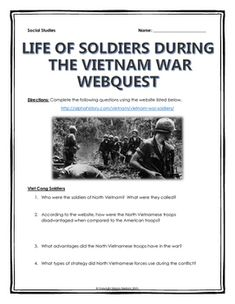 Civil War - Causes of the Civil War - Webquest and Writing ...