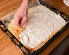 Kenyérlángos (langalló)   Bérczi Róbert receptje - Cookpad receptek Naan, Camembert Cheese, Dairy, Pie, Desserts, Food, Torte, Tailgate Desserts, Cake