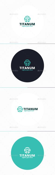Titanum Logo • Letter T — Photoshop PSD #factory #tech • Available here → https://graphicriver.net/item/titanum-logo-letter-t/10000875?ref=pxcr