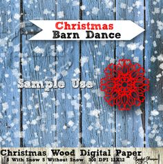 CHRISTMAS Digital Paper  Wood Paper with a by SparkalDigitalDesign, $4.85 #scrapbookPaper #DigitalPaper