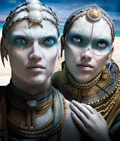 """""""Valerian and the City of a Thousand Planets"""" (Luc Besson Aliens And Ufos, Ancient Aliens, Character Costumes, Movie Costumes, Valerian Film, Film Science Fiction, Character Inspiration, Character Design, Arte Alien"""