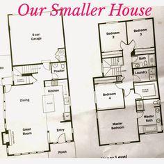 Floor Plan Design House Two Stoeys on