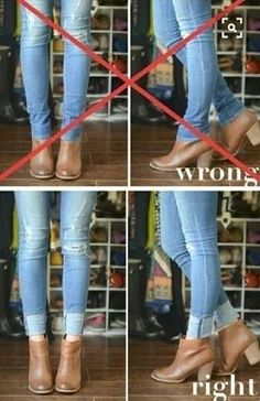 No matter how much we know about clothes, there is always new tips and tricks we could learn. These 17 brilliant clothing hacks is just what you need! Diy Fashion, Ideias Fashion, Autumn Fashion, Fashion Outfits, Womens Fashion, Fashion Tips, Fashion Hacks, Curvy Fall Fashion, Short Girl Fashion