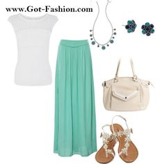 We love how simple and beautiful this outfit is. It features the #GraceAdele Shelby-Stone #Bag, the Shay-Stone #Clutch, the Bauble-Teal Stud #Earrings, and the Bauble Drop-Teal #Necklace Mix & Match your style today!  www.Got-Fashion.com #GraceAdele #Purses #Bags #Jewelry #Fashion #StyleMe