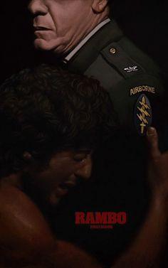 Rambo First Blood fan poster, Yuri Shwedoff on ArtStation at http://www.artstation.com/artwork/rambo-first-blood-fan-poster