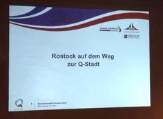 Rostock auf dem Weg zur Qualitätsstadt! Wir waren heute dabei! Heute lud die ServiceQualität Deutschland zum gemeinsamen Treffen in Warnemünde ein.