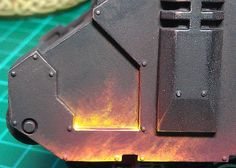 flame painting tutorial 40k legion of the damned 7