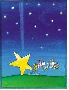 #Mordillo falling star