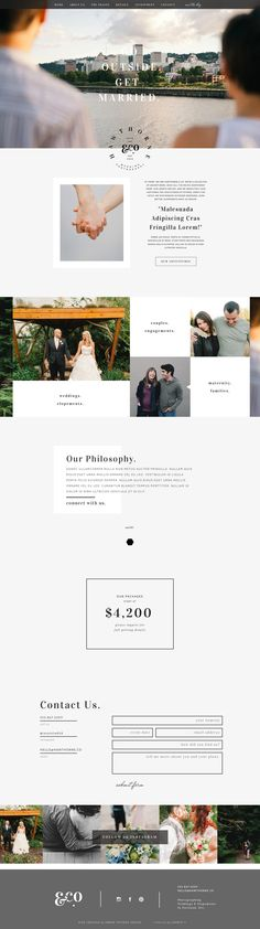 Hawthorne - Showit Free Photography Website Template