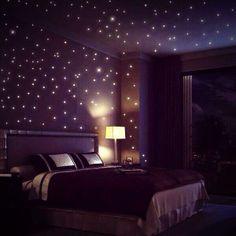 Tidur kamu akan terasa lebih relaks dengan tampilan Starry Night Room ini BroSist. Keren banget ya? #SMARTlifestyle