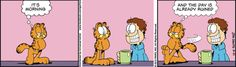 Garfield Cartoon for May/21/2012