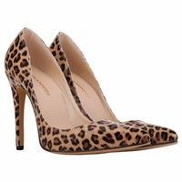 Wish   Sexy Pointed High Heels Women leopard print Pumps Shoes New Brand Design Wedding Shoes Pumps EU SIZE 35-42 AC-302-1PA