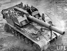 US T92 self propelled 240mm howitzer