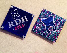 RDH graduation caps - Children's Dental Specialist | #Carson | #CA | www.childrensdentistsouthbay.com