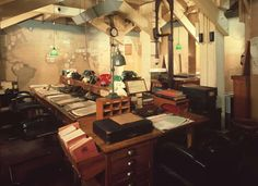 Churchill War Rooms is een kleiner museum in de bunker waar het oorlogskabinet tot het einde  van WOII verbleef.