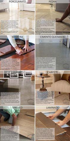 Tipos de piso – Coelho Lima Architecture Details, Interior Architecture, Interior Design, Home Room Design, House Design, Diy Art Projects, House Rooms, Diy Design, Sweet Home