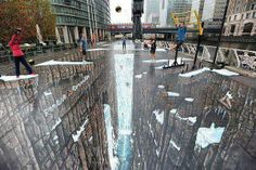 I have Acrophobia (fear of heights)... RT@Fascinatingpics The World's Largest 3D Street art pic.twitter.com/EqqRvCq3UH