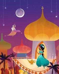Classic Disney by Joey Chou.